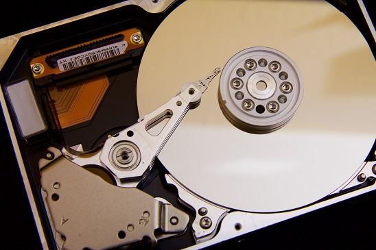 hard disk spinning plates