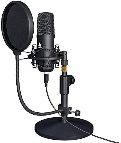 Maono AU A04T USB Condenser Podcast PC Microphone