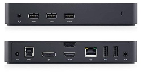 Dell D3100 USB 3.0 Ultra HD Triple Video Docking Station